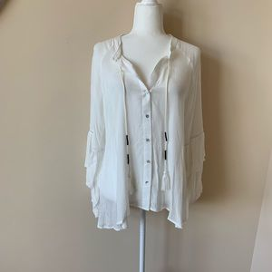 REVOLVE Central Park West dobby woven blouse #896